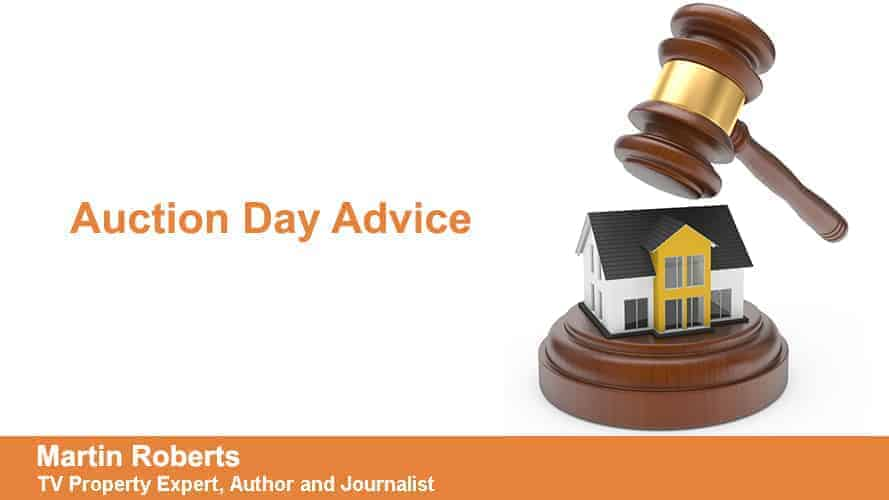 Martin Roberts - Auction Day Advice